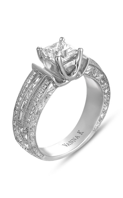 Vanna K Hand Engraved Engagement ring 18RGL00192DCZ product image