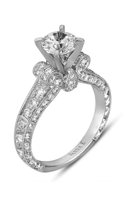 Vanna K Hand Engraved Engagement ring 18RGL00277DCZ product image