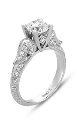 Vanna K Hand Engraved Engagement ring 18RGL00207DCZ product image