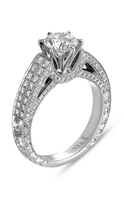 Vanna K Hand Engraved Engagement ring 18RGL0228DCZ product image