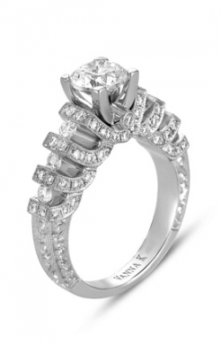 Vanna K Hand Engraved Engagement ring 18RGL00217DCZ product image