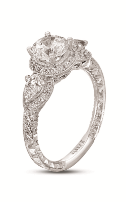 Vanna K Hand Engraved Engagement ring 18RGL00639DCZ product image