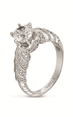 Vanna K Hand Engraved Engagement ring 18RGL00391DCZ product image