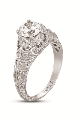 Vanna K Hand Engraved Engagement ring 18RGL00515DCZ product image