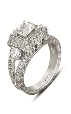 Vanna K Hand Engraved Engagement ring 18RGL00170DCZ product image
