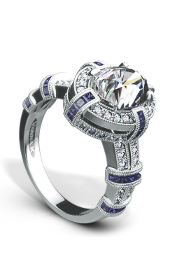 Vanna K Cascade Engagement Ring 18RGL8351DCZ product image