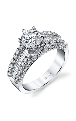 Vanna K Cascade Engagement Ring 18M00020CZ product image