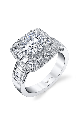 Vanna K Cascade Engagement Ring 18RO4896DCZ product image