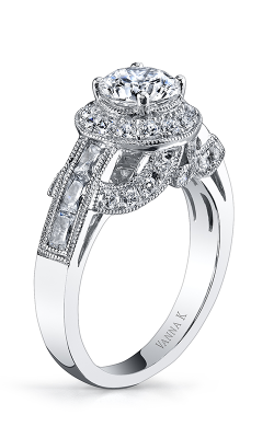 Vanna K Cascade Engagement Ring 18RGL775DCZ product image