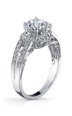 Vanna K Cascade Engagement Ring 18RGL633DCZ product image