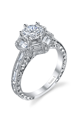 Vanna K Cascade Engagement Ring 18RGL00650DCZ product image