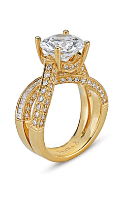 Vanna K Cascade Engagement Ring 18RO1980YDCZ product image