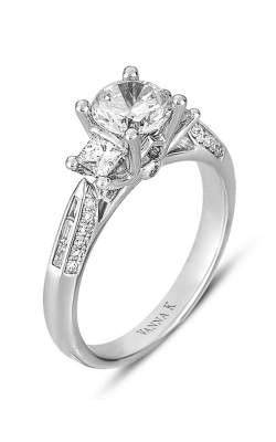 Vanna K Cascade Engagement Ring 18RGL0119DCZ product image