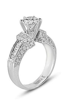 Vanna K Cascade Engagement Ring 18RM32429DCZ product image