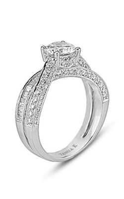 Vanna K Cascade Engagement Ring 18M00238RCZ product image
