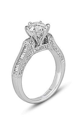 Vanna K Cascade Engagement Ring 18M00043CZ product image