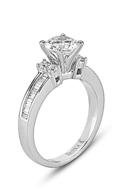 Vanna K Cascade Engagement Ring 18M00026CZ product image