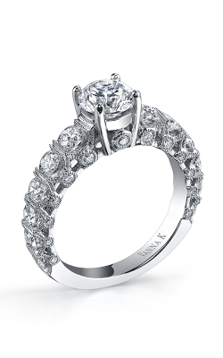 Vanna K Kamara Engagement Ring 18RGL00672DCZ product image
