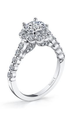 Vanna K Kamara Engagement Ring 18RGL00618DCZ product image