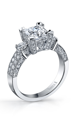 Vanna K Kamara Engagement Ring 18RGL00738DCZ product image
