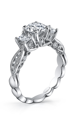 Vanna K Kamara Engagement Ring 18RGL718DCZ product image