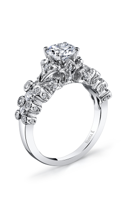 Vanna K Kamara Engagement Ring 18RGL695DCZ product image
