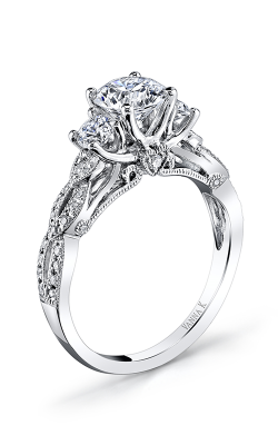 Vanna K Kamara Engagement Ring 18RGL00629DCZ product image