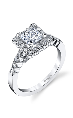 Vanna K Kamara Engagement Ring 18RGL5392DCZ product image