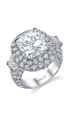 Vanna K Kamara Engagement Ring 18RGL00654DCZ product image