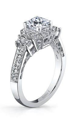 Vanna K Kamara Engagement Ring 18RGL00645DCZ product image