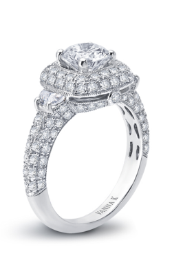 Vanna K Kamara Engagement Ring 18RGL6541DCZ product image