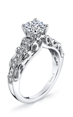 Vanna K Solea Engagement Ring 18R1004DCZ product image