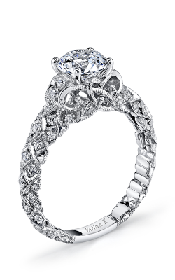 Vanna K Solea Engagement Ring 18RGL00606DCZ product image