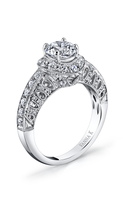 Vanna K Solea Engagement Ring 18RGL00638DCZ product image