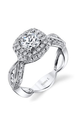 Vanna K Solea Engagement Ring 18RGL919DCZ product image