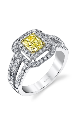 Vanna K Soleamore Engagement Ring 18RGL690DY product image