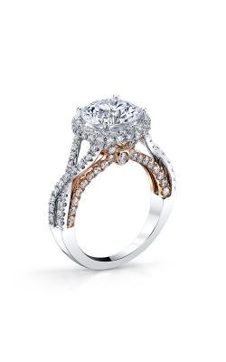 Vanna K Diamond Engagement ring 18R1265PW product image