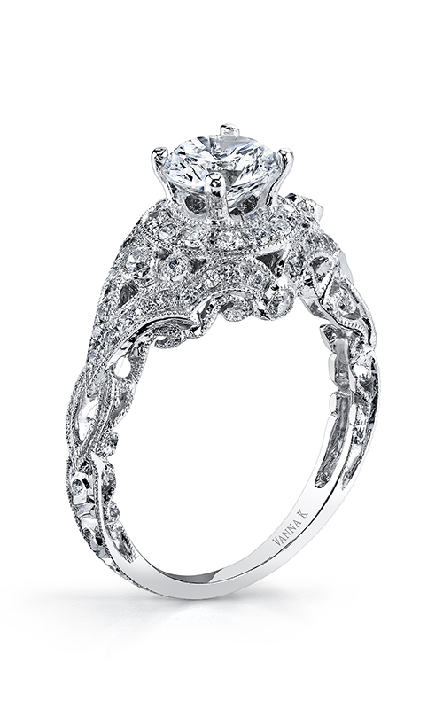 Vanna K Hand Engraved Engagement ring 18RGL00512DCZ product image