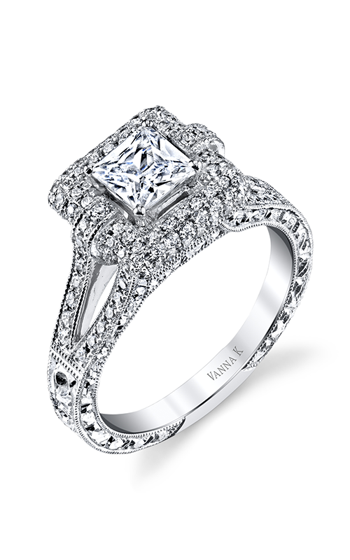 Vanna K Hand Engraved Engagement ring 18RGL00201DCZ product image