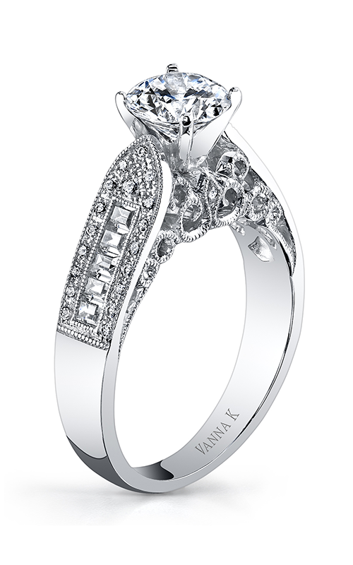 Vanna K Cascade Engagement ring 18RGL795DCZ product image