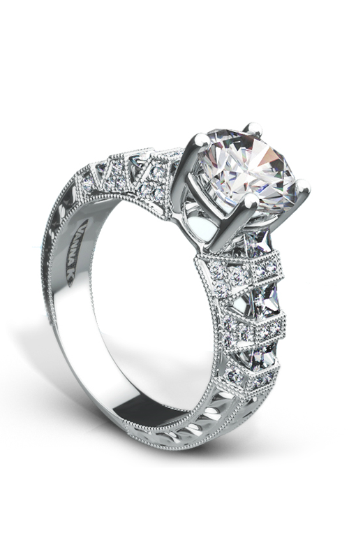 Shop Vanna K 18ro2061dcz Engagement Rings Rodeo Jewelers