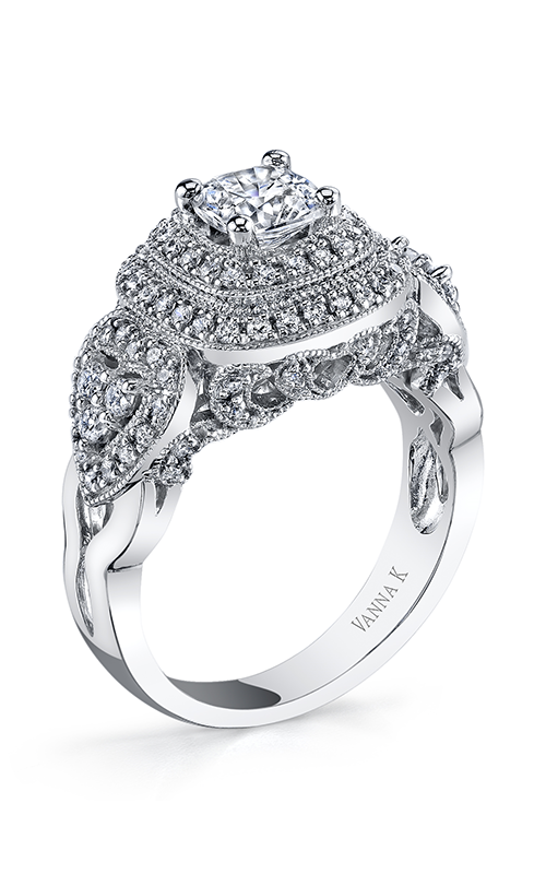 Vanna K Solea Engagement ring 18RGL814DCZ product image