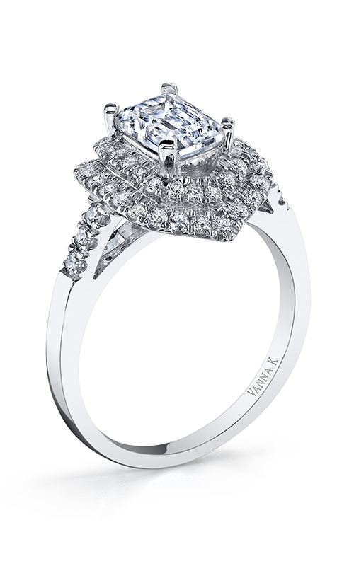 Vanna K Solea Engagement ring 18RGL802DCZ product image