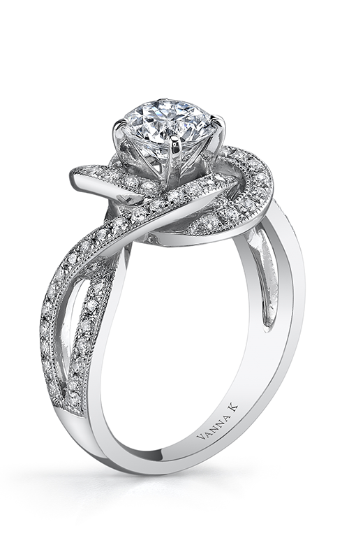 Vanna K Solea Engagement ring 18RGL742DCZ product image