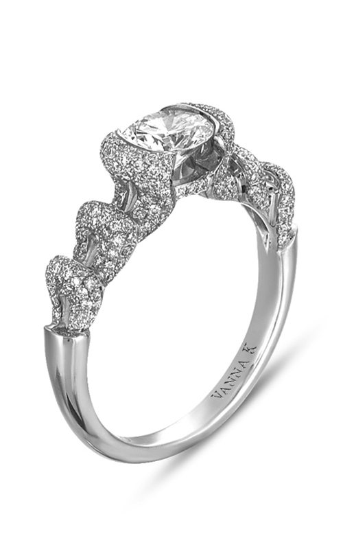 Vanna K Solea Engagement ring 18RGG179DCZ product image