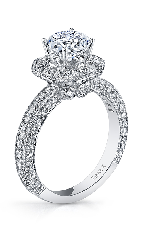 Vanna K Solea Engagement ring 18RO3382DCZ product image