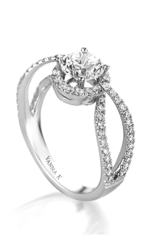 Vanna K Solea Engagement ring 18RGL025DCZ product image