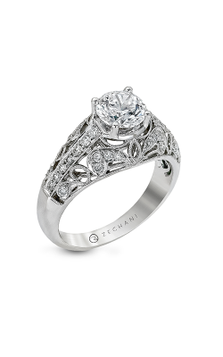 Zeghani Vintage Vixen Engagement ring ZR160 product image