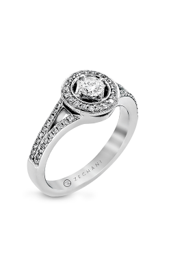 Zeghani Vintage Vixen Engagement ring ZR345 product image