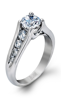 Zeghani Delicate Diva Engagement ring ZR410 product image